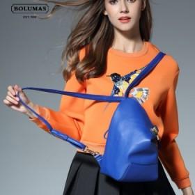 BOLUMAS双肩包女韩版包包2017新款