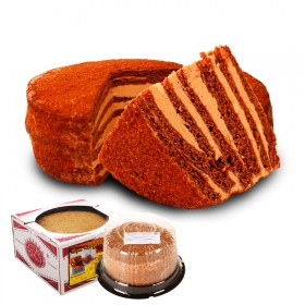 俄罗斯双山提拉米苏500g进口蜂蜜奶油夹心可可蛋糕