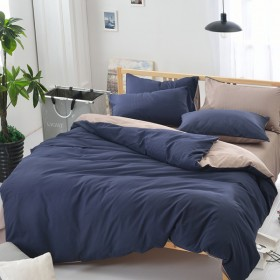 床上用品纯色套件1.2m床150x200cm