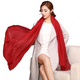 女士丝巾 薄围巾加大加宽