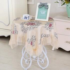 桌布椅套 布艺欧式绣花餐桌布台布茶几桌旗 椅子套