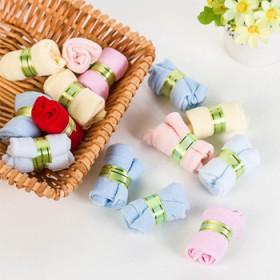 10双装 儿童糖果袜 透气网眼直筒袜0-10岁