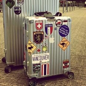 包邮 网红款行李箱旅行箱贴纸笔记本电脑吉他贴