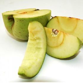 正宗烟台印度青苹果三十年老品种没酸味很甜十斤