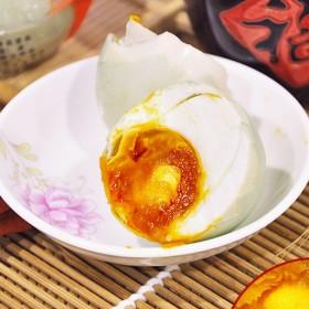 手工腌制咸鸭蛋流油起砂20枚农家腌制高油麻鸭75g