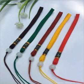 高档手把件绳子玉器手腕挂绳车挂绳钥匙链绳手工编织