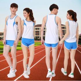 田径服套装男女训练服套装马拉松比赛服运动衣服