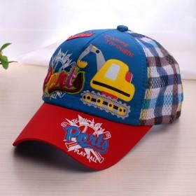 男女儿童网眼太阳帽宝宝鸭舌帽子3-8岁