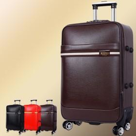 商务拉杆箱男登机箱女万向轮行李箱旅行箱牛皮箱登机箱