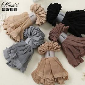 20双装透明丝袜性感水晶女短丝袜女丝袜子