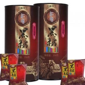 云南古法黑糖红枣玫瑰枸杞红糖块206克