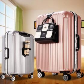 明星同款铝框拉杆箱旅行箱包学生密码行李箱子登机箱