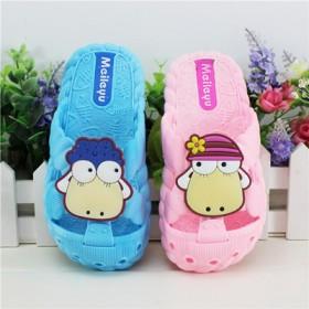 宝宝凉鞋塑胶防滑夏季可爱卡通软底学步鞋男女童鞋1-