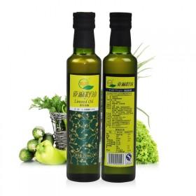 亚麻籽油冷榨食用油月子油包邮沁垣胡麻油纯天然有机