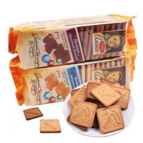 【2盒装】俄罗斯饼干大头娃娃原味巧克力饼干零食