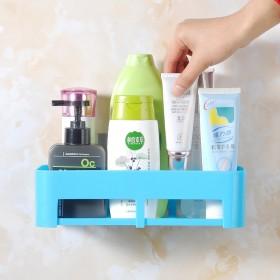 卫生间壁挂浴室置物架收纳吸盘洗手间免打孔置物
