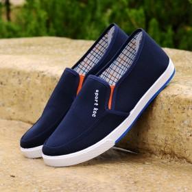 男士帆布鞋运动休闲学生鞋老北京布鞋