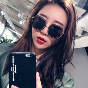 2017新款韩国墨镜女潮2016明星款复古太阳镜