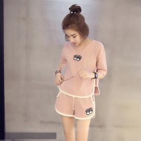 春夏短袖运动套装