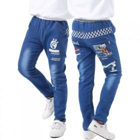 男童春秋薄款牛仔裤