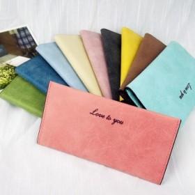 17年潮流女士式钱包包邮钱包耐用耐磨新款女长款耐用