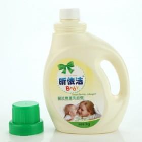 婴儿洗衣液新生儿童宝宝专用2斤瓶装抑菌亲肤柔软