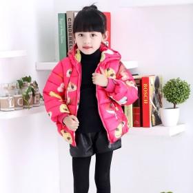 女童棉衣童装加厚棉袄冬装儿童棉服2-4-6周岁宝宝