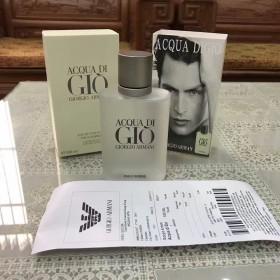 正品代购阿玛尼男士香水100ml(附带专柜小票)