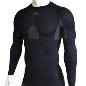 运动跑步打底排汗速干紧身功能长袖