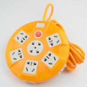 5米线创意USB插座多孔插线板防水排插接线板