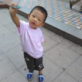 男孩女孩儿童纯棉粉色文化衫打底衫
