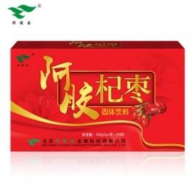 绿健园阿胶杞枣固体饮料20袋 女性饮品