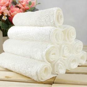 5条装 竹纤维洗碗巾双层加厚不沾油毛巾厨房抹布