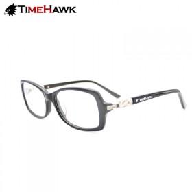 TimeHawk平光眼镜框男款近视眼睛架复古眼镜架