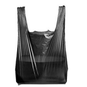 黑色手提垃圾袋100个袋子