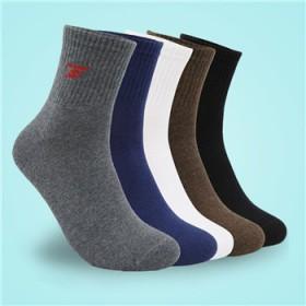 【6双礼盒装】纯棉耐磨男士运动袜 吸汗防臭棉袜