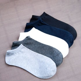 【6双装】纯棉男士船袜,夏季薄款运动短袜吸汗防臭