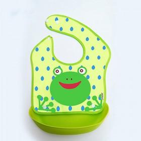 宝宝围嘴 吃饭防水饭兜 可调节围嘴