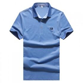 新款高品质男T恤英伦爽滑透气POLO亏本冲基础销量