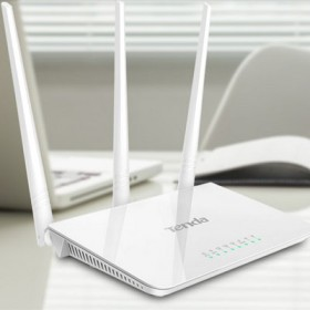 腾达F3无线路由器穿墙王三天线无线wifi家用高速
