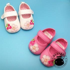 0-1岁女童宝宝学步鞋纯棉布软底婴儿鞋可爱公主鞋萌