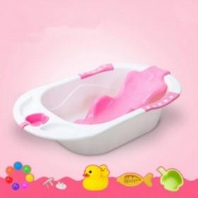 【买一送22】新生儿婴儿浴盆宝宝洗澡盆大号加厚