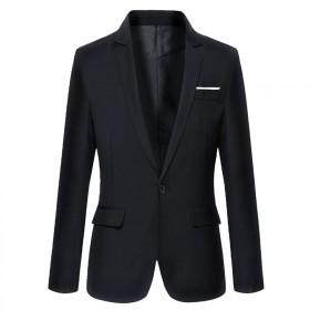 春季新款男士休闲西服外套韩版修身青年薄款英伦