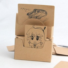 单词卡空白卡片定制包邮记忆单词制定涂鸦卡手绘卡画画