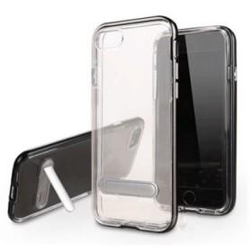 iPhone7plus手机壳边框创意手机支架透明防
