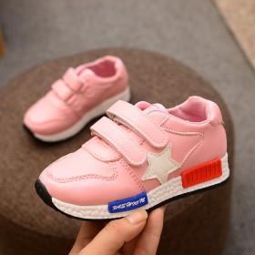 女童休闲鞋宝宝儿童单鞋2017新款男童跑步鞋中小童