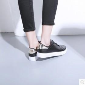 2017春季新款小白鞋学生鞋休闲板鞋系带女鞋多色