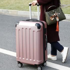 学生密码箱子行李箱拉杆箱万向轮旅行箱包皮箱登机-1