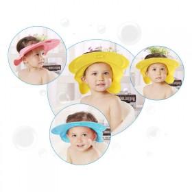 宝宝洗头帽儿童洗发帽硅胶可调节防水护耳婴儿洗澡浴帽