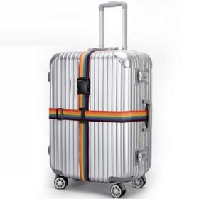 打包带加厚 彩色绑带拉杆箱一字捆扎带旅行箱包加固托